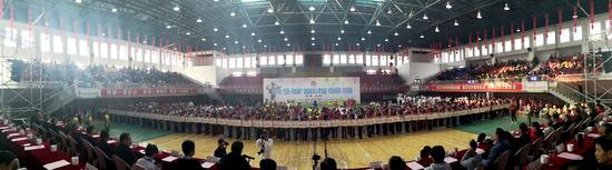 2019年全国老年人柔力球 (双拍双球)交流活动在凤阳开幕
