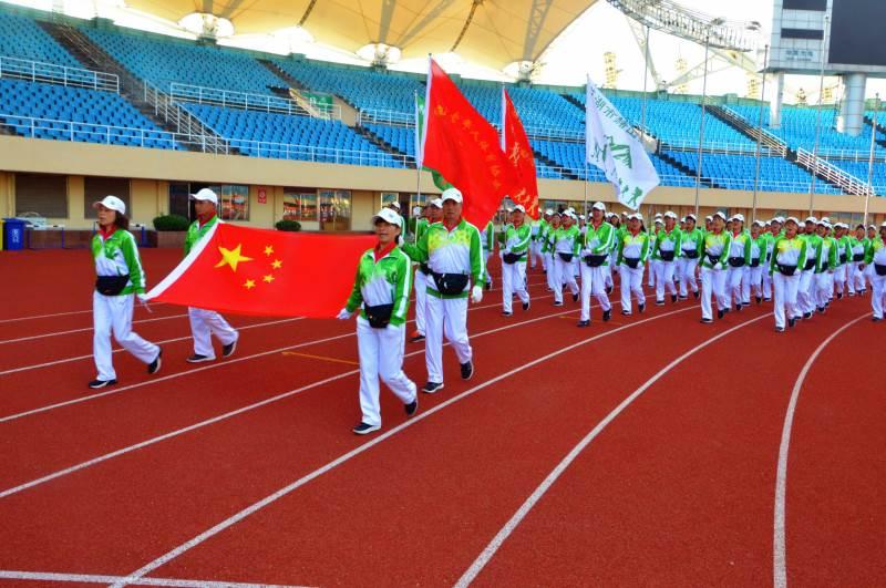 全国老年人健步走活动安徽省大联动