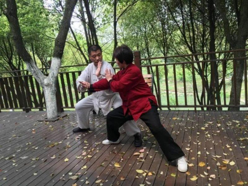 无私奉献,热忱传播 ——记泾县老体协太极拳分会陈氏13代传人