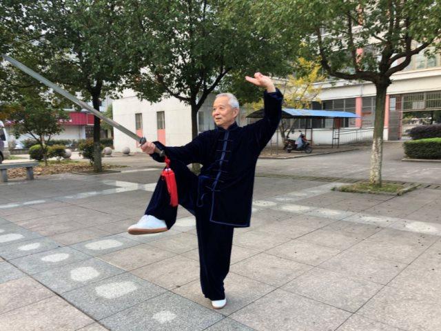 我们的定海神针  ——记泾县老体协太极拳联谊分会名誉会长左宗宏