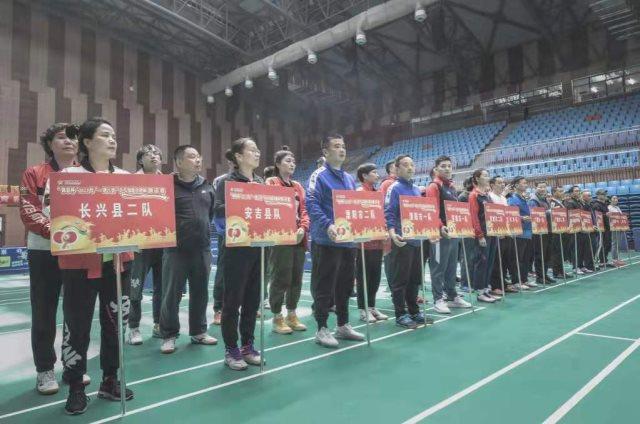 宣城市郎溪县老体协体育运动健身蓬勃发展